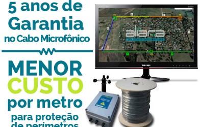 Tentativa de Invasão – Cabo Sensor Microfônico