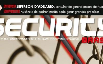 Aliara Brasil sai em matéria de capa da Revista Security