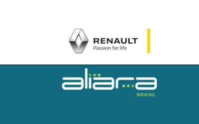 Integrador protege o Perímetro do Centro de Distribuição de Peças da Renault do Brasil em Quatro Barras – PR com Cabo Sensor Microfônico.