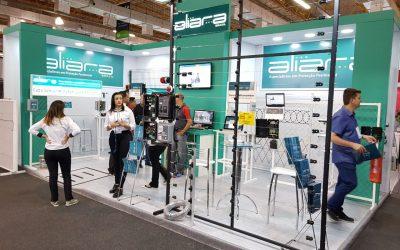 Feira de segurança – ISC, participação da Aliara Brasil